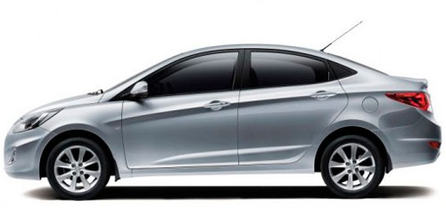 hyundai accent Rent a car Baku from RENTEKS company