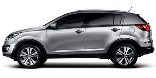 Kia Sportage Rent a car Baku from RENTEKS company