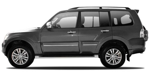 Mitsubishi Pajero Rent a car Baku from RENTEKS company