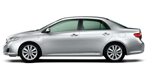 Toyota Corolla Rent a car Baku from RENTEKS company