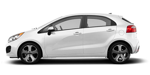 Kia Rio hachback Rent a car Baku from RENTEKS company