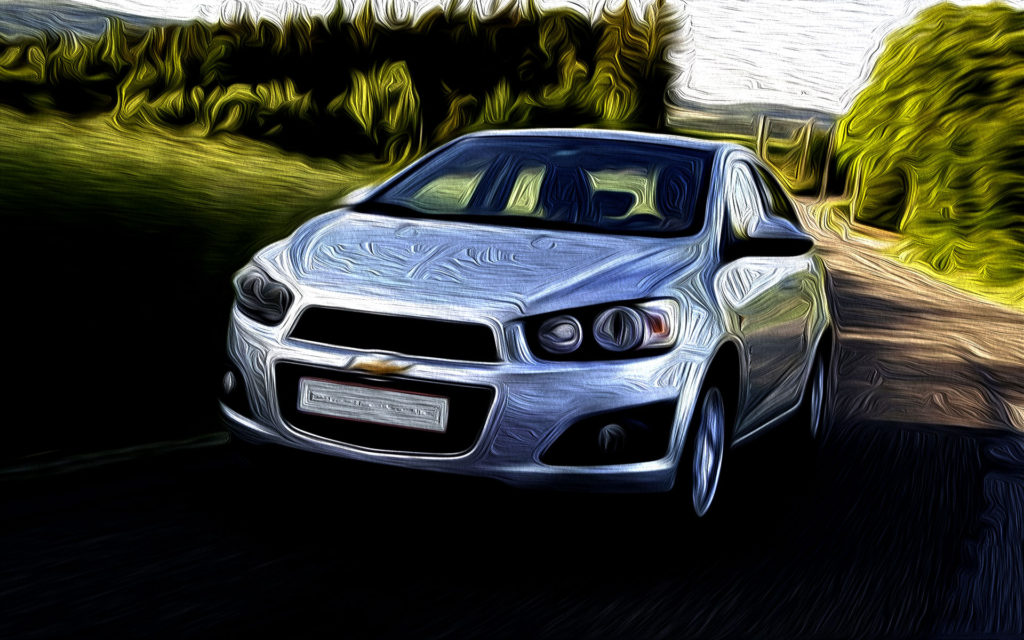 CHEVROLET AVEO Rent a car Baku from RENTEKS company