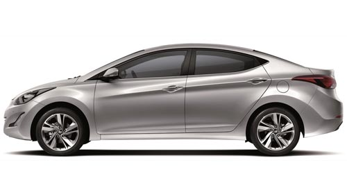 Hyundai Elantra / Rent a car Baku from RENTEKS