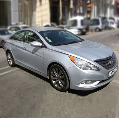Hyundai Sonata, Rent a car Baku / Car rental Baku