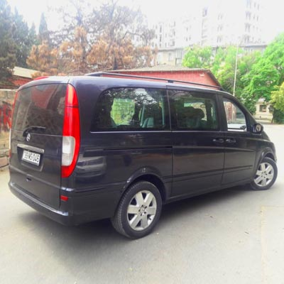 Mercedes Viano rent a car Baku / rental cars Baku