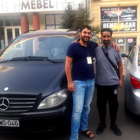Mr. Abdulmajeed Alshammari (Saudi Arabia) / Rent A Car Baku / Kiraye Masinlar / аренда авто в Баку