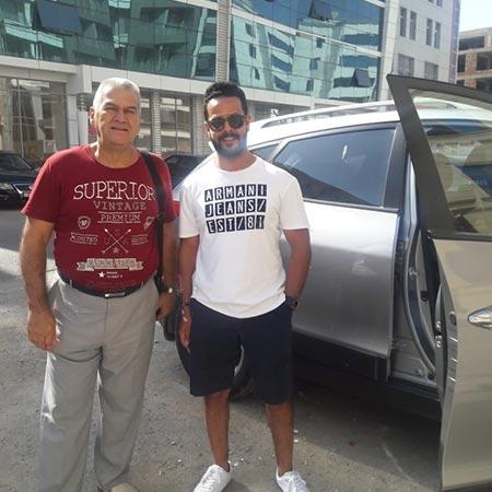 Mr. Bandar Alghamdi (Saudi Arabia) / аренда авто в Баку / Arenda Masinlar / Rent A Car Baku