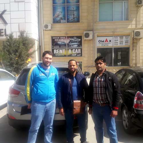 Ясир Наваз (Пакистан) / прокат авто в Баку / аренда авто в баку
