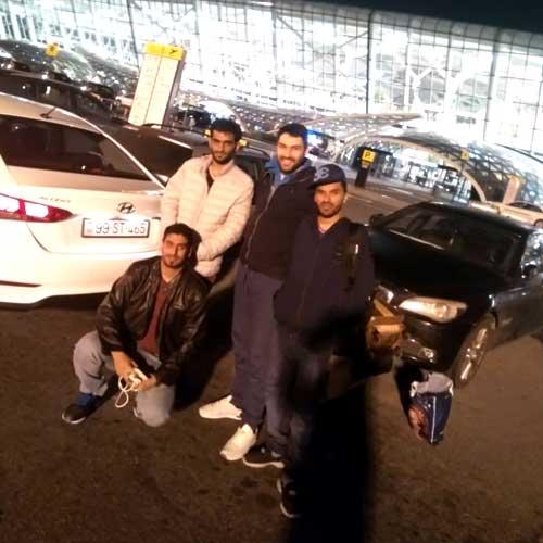 Mr. Said Alghagri (Oman) / rent a car Baku / rental cars Baku