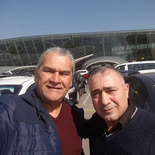 Mr.Shamil Mammadov (Russia) / Rent A Car Baku / Rental Cars Baku