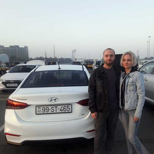Tsybenko Kirill (Russia) / Car hire Baku from RentExpress / прокат авто в Баку / Arenda masinlar