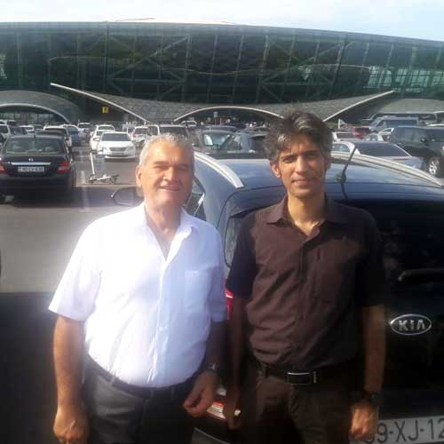 Мухаммед Гасым Малик (Пакистан) / Car hire Baku from RentExpress / прокат авто в Баку / Arenda masinlar