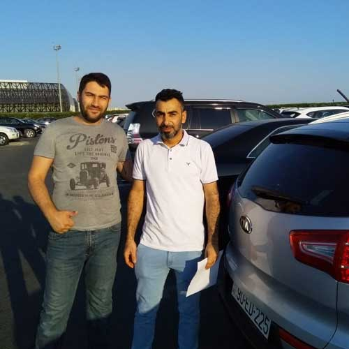 mr. Yasser Mohamed Hamed (Oman) / Car hire Baku from RentExpress / прокат авто в Баку / Arenda masinlar