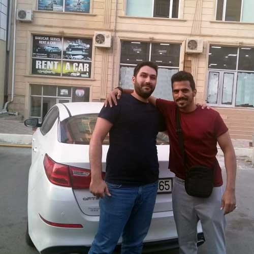 Mr. Talal Al Senani (Saudi Arabia) / Car Hire Baku From RentExpress / прокат авто в Баку / Arenda Masinlar
